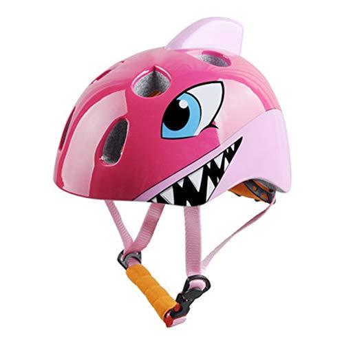 PQG Kinder Helm Cute Cartoon Unisex Vierjahres-Helm Starke Sicherheit Schutz
