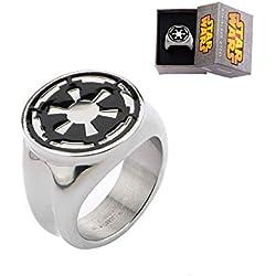 Star Wars Imperial Symbol Edelstahlring | 11
