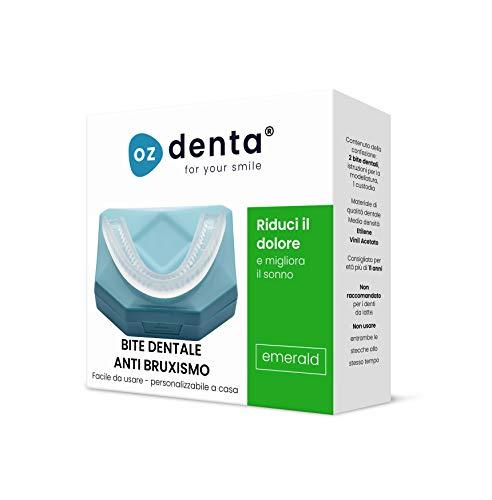 OzDenta Bite Dentale Notturno Automodellante anti Bruxismo Apparecchio Digrignare i denti e disturbi dell' ATM