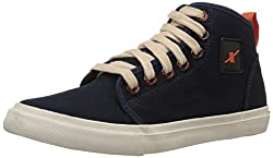 Sparx Men's Navy Blue Sneakers - 10 UK (SC0233G)