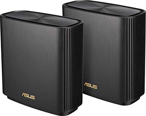 ASUS ZenWifi XT8 (2 pack) - Sistema Wi-Fi 6 Mesh Tri-Banda AX6600...