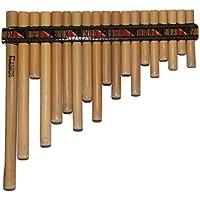 Profesional cuzco-peru bambú rondador–Flauta de Pan 19tubos–incluye funda