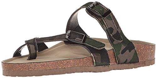 73c0b90836cb0a Madden Girl Bryce Womens Flat Sandals Camouflage 6.5 US   4.5 UK US
