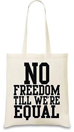 no-freedom-till-were-equal-funny-slogan-bolso-de-mano