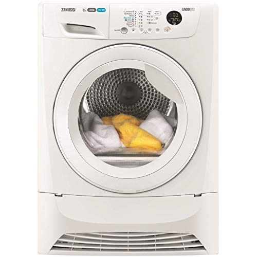 Zanussi ZDC8203WZ 8kg Freestanding Condenser Tumble Dryer - White