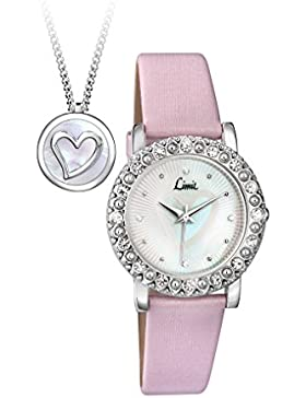 Limit Damen-Armbanduhr Analog Quarz Polyurethan 6004G.00