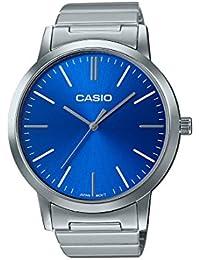 Casio Collection – Unisex-Armbanduhr mit Analog-Display und Edelstahlarmband – LTP-E118D-2AEF