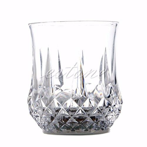 LanLan Farbwechsel Bierkr¨¹ge LED Blitzlicht Whiskey Shot Trinkglas Cup Farbwechsel Blinklicht Beer Cup f¨¹r Hochzeit Club