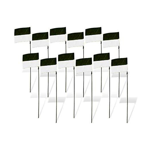(Premier RC - Rennen Flag Marker für Drone Racing (Satz 12) - Schwarz-Weiss)