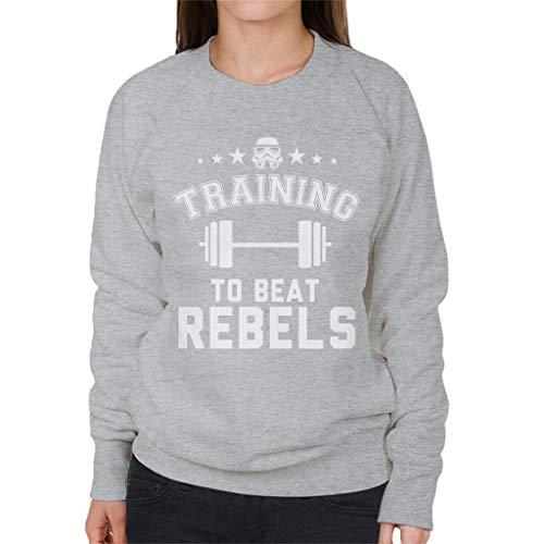 Original Stormtrooper Training to Beat Rebels Women's Sweatshirt
