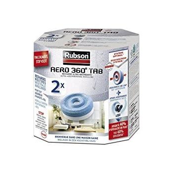 Rubson - 1619478 - Aero 360° - Recharge pour Absorbeur d'Humidité - 2 Recharges