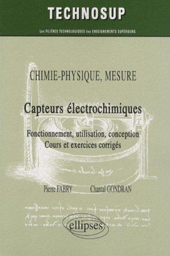 Capteurs Electrochimiques Chimie Physique Mesure
