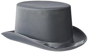 Rire et Confetti Reír y confeti - Fiedis072 - Disfraces de accesorios - sombrero de copa en forma de Gris