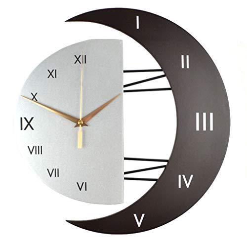 Xiaodianer orologio da parete moderno decorativo creativo orologi da parete silenziosi personalità salotto non ticchettio quarzo senza telaio orologio