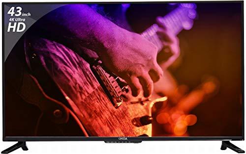 Onida 107.95 cm (43 inches) 4K Ultra HD LED TV Live Genius KY Rock (Black) (2017 Model)