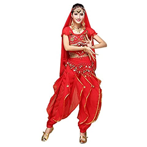 Fox Costume De Danse - Tonsee Femmes Danse du Ventre Costume Inde