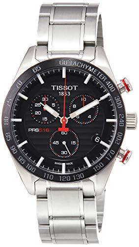 Tissot Herren-Uhren Analog Quarz One Size Edelstahl 87290832