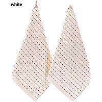 MXH 3 Cargado algodón Diamante Cuadrado Toalla Absorbente Espesamiento Tela 32 hebras Bordado l pañuelo de