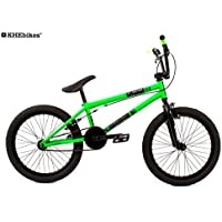 KHE BMX Fahrrad Barcode grün nur 11,3kg!