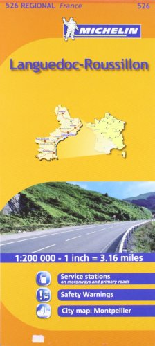 Languedoc-Roussillon Michelin Regional Map (Michelin Regional Maps) por Michelin