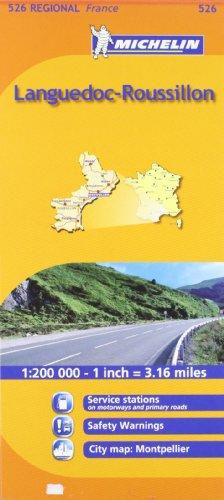 Mapa Regional Languedoc-Roussillon (Carte regionali)