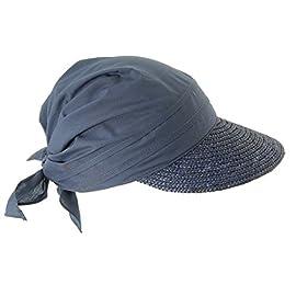 Seeberger Damen Sonnenhut Strohhut Stoffcap