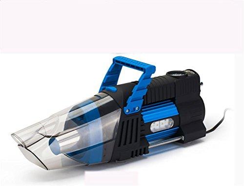 RUIRUI 5-in-1 Hand-Auto Auto Vakuum 12V / 180W Auto Vac Nass Trocken Reifen Inflator Pumpe Manometer mit LED-Licht, Blue
