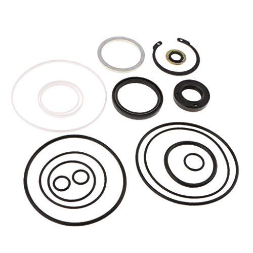 B Baosity Dichtsatz Dichtungssatz Lenkgetriebe Servolenkung Gummi Dichtung - Reparatursatz für Auto