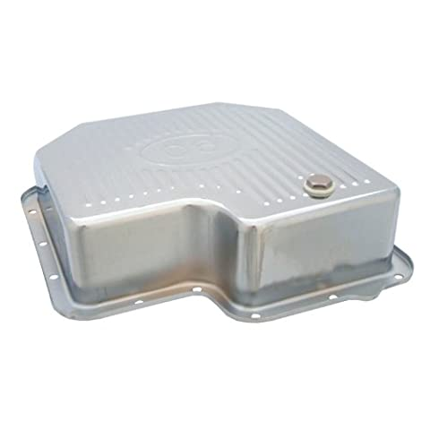 Spectre Performance 5464 Chrome Extra Capacity Transmission Pan Ford C6