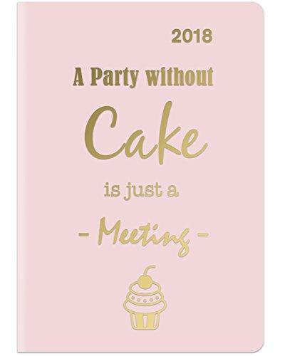 2018 Cake MidiFlexi Diary -  teNeues GlamLine - 12 x 17 cm