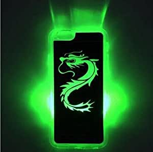 Fonovo Stylish Sense Led Flash Light Color Changing Hard Case Cover For Iphone 5/5S (Hearts)