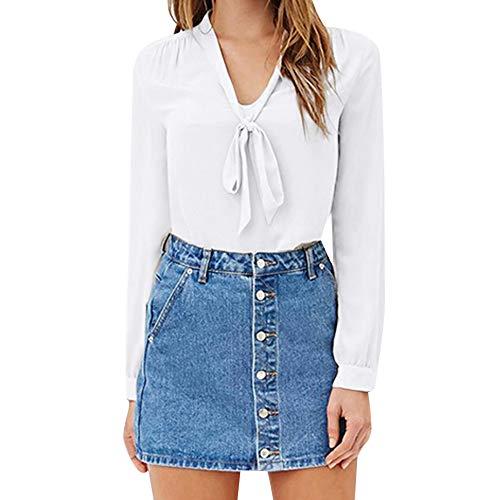 af906831f5 Clearance Sale [S-3XL] ODRDღ Damen T-Shirt Frauen Langarmshirts Tops Mode