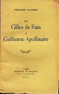 De Gilles de Rais à Guillaume Apollinaire par Fernand Fleuret
