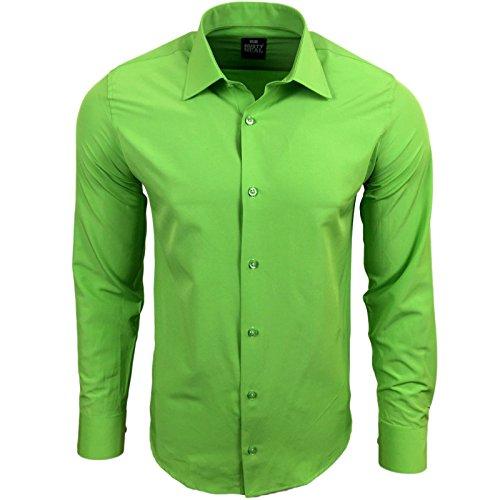Rusty Neal -  Camicia classiche  - Maniche lunghe  - Uomo Verde