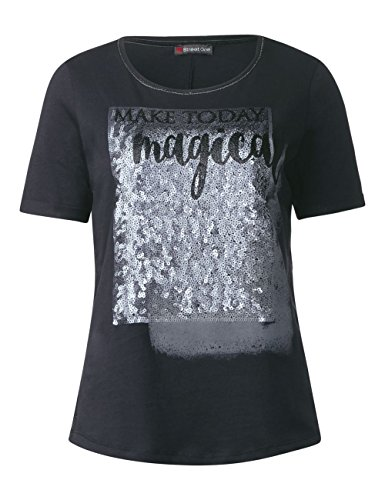 Street One Damen T-Shirt Grau (Neo Grey 31017)