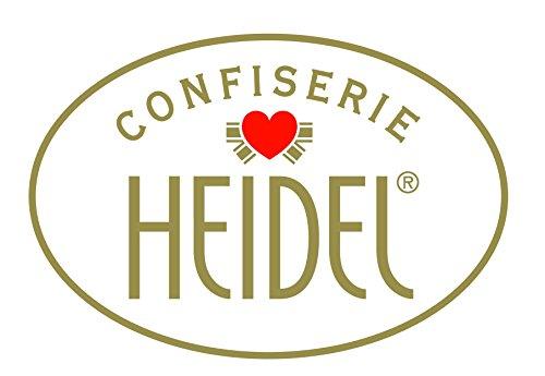 Heidel Confiserie Latta in Metallo a Forma di Uovo di Pasqua con Cioccolatini al Latte Ripieni con Crema Pralinata e Cereali Croccanti – 2 x 103 Gram - 3