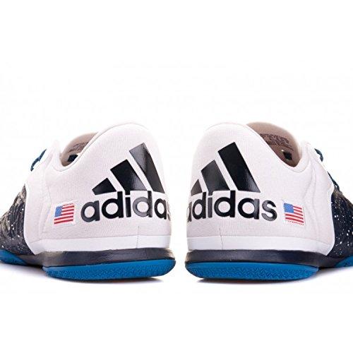 adidas X 15.2 Court, Chaussures de Foot Homme Noir / blanc / rouge (bleu marine collégial/ blanc Footwear / rouge intense)