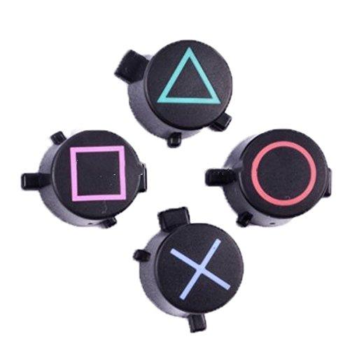 Ersatz Symbole Ersatzknöpfe Face (Oberfläche in Button Set Custom Kit für Playstation 4PS4Controller Triangle Circle Quadratisch X