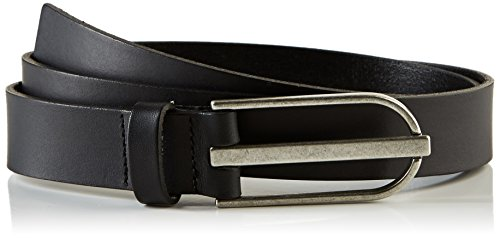PIECES Pctender Leather Jeans Belt, Cintura Donna, Nero, 80