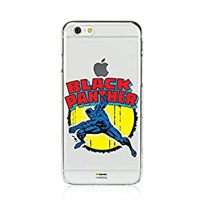 Hamee Marvel Character Licensed Hard Back Case for iPhone 5 / 5s / SE / 5SE (black panther / clear)