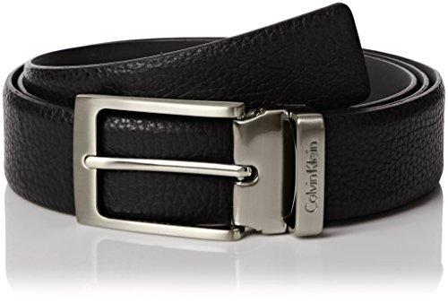 Calvin Klein K50K500509 001 Ceinture, Noir (Black), 85 Homme