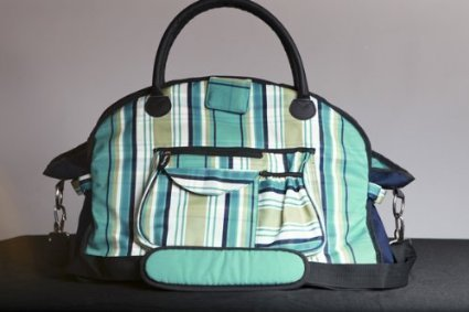 sassy-caddy-womens-preppy-tote-bag-teal-navy-white-by-sassy-caddy-inc