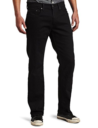 Levi's Mens 559 Relaxed Straight Jeans - Black