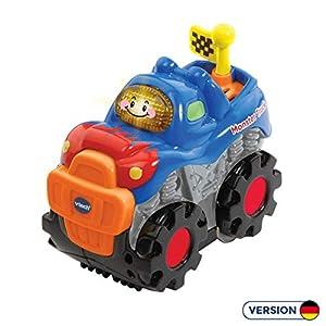 VTech 80-501804 vehículo de Juguete - Vehículos de Juguete (Negro, Azul, Naranja, 1 año(s), 5 año(s), Niño, Interior, 90 g)