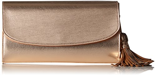 ESPRIT Damen 067ea1o020 Clutch, Coral ORANGE, 4,5x15x18 cm