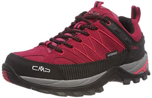 CMP Rigel Low, Scarpe da Arrampicata Basse Donna, Rosso (Granita-Corallo 72bm), 40 EU