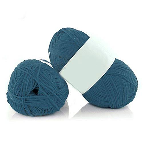 1 ovillo lana sintética 50 g madeja bambú suave