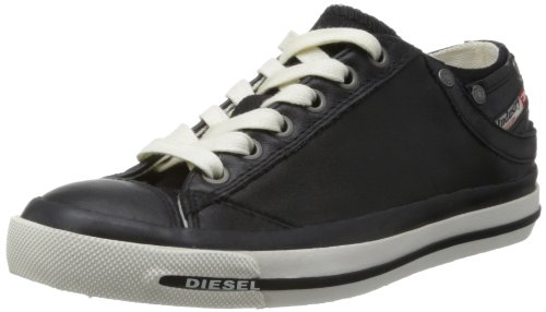 Diesel Damen Magnete Exposure IV Low Sneaker, Schwarz (T8013 Black), 39 EU (Low Exposure Sneaker)