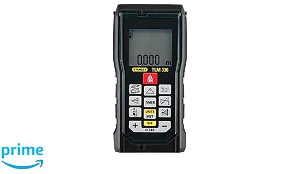 Tacklife Advanced Laser Entfernungsmesser : Stanleylaserentfernungsmesser tlm330 flächenmessung volumenmessung