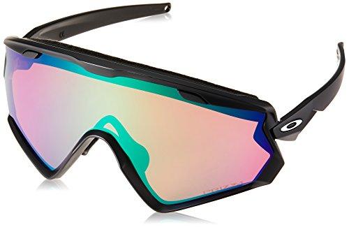 Oakley Herren Wind Jacket 2.0 941801 Sonnenbrille, Schwarz (Negro/Mate), 0